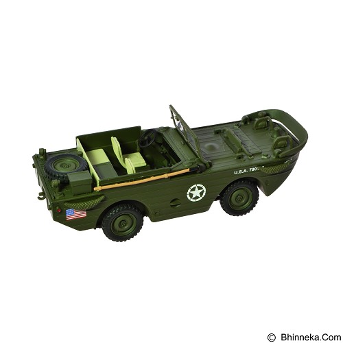 FORCES OF VALOR U.S. Amphibian General Purpose Vehicle GP Normandy 1944 Diecast Mobil [82010] (Merchant) - Die Cast