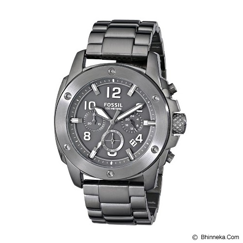 FOSSIL Casual Watch Original For Men [FS5017] - Black - Jam Tangan Pria Casual