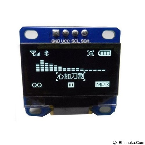 FREELAB OLED LCD display dengan i2c  (Merchant) - Modif Spare Part