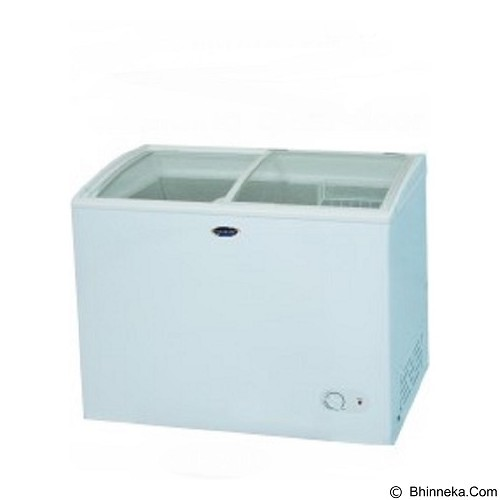 FRIGIGATE Chest Freezer [210 L - F210] (Merchant) - Chest Freezer Sliding Glass