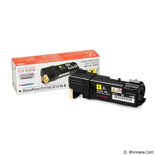 FUJI XEROX Yellow Toner [CT201117] - Toner Printer Fuji Xerox