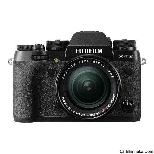 FUJIFILM Digital Camera X-T2 Kit - Black (Merchant) - Camera Mirrorless