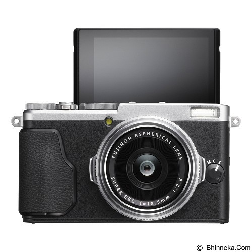 FUJIFILM Digital Camera X70 - Silver (Merchant) - Camera Pocket / Point and Shot