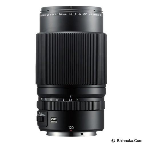 FUJIFILM Fujinon GF 120mm F4 R LM OIS WR Macro - Camera Mirrorless Lens
