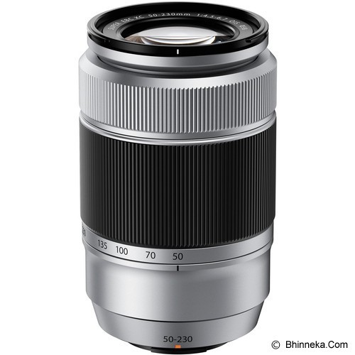 FUJIFILM Fujinon XC 50-230mm f/4.5-6.7 OIS - Silver (Merchant) - Camera Mirrorless Lens