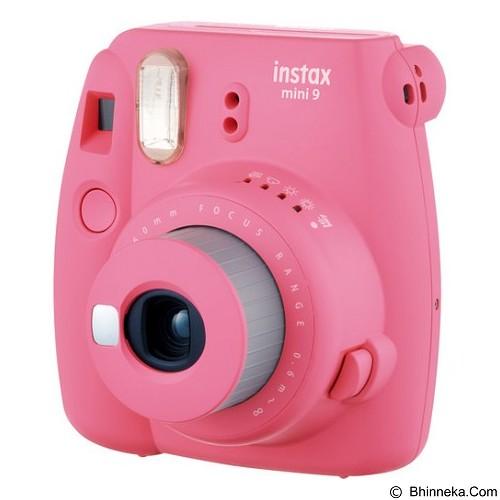 FUJIFILM Instax Mini 9 Instant - Flamingo Pink - Camera Instant / Polaroid