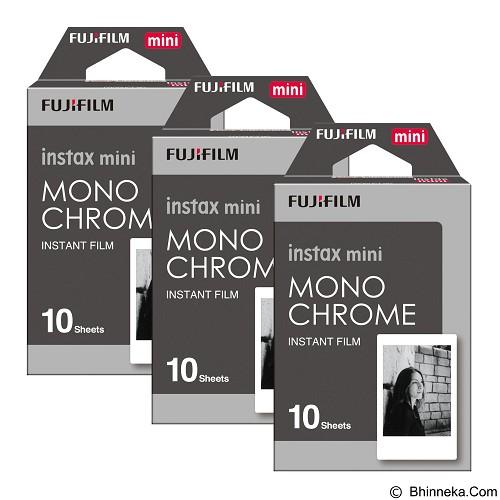FUJIFILM Instax Paper Monochrome Three Pack - Camera Roll Film