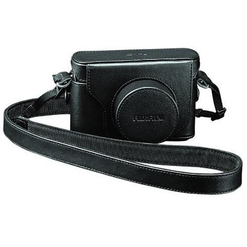 FUJIFILM Leather Case X10 - Black - Camera Compact Pouch