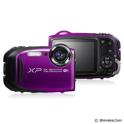 FUJIFILM Finepix XP80 - Purple - Camera Pocket / Point and Shot