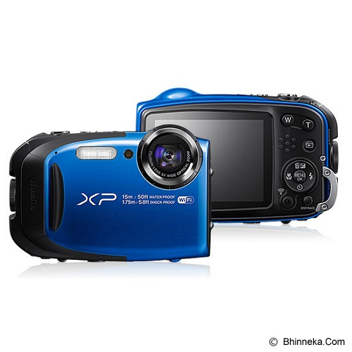 FUJIFILM Finepix XP80 - Blue (Merchant) - Camera Pocket / Point and Shot