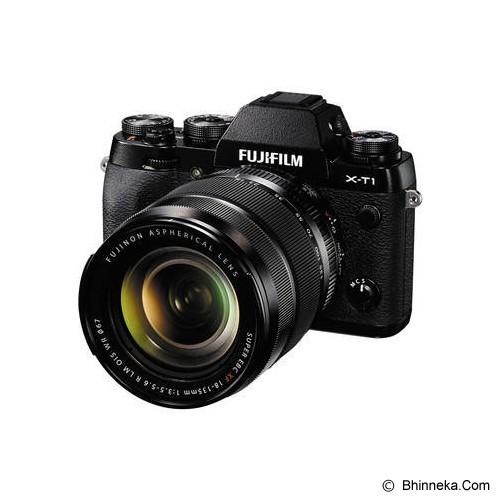 FUJIFILM X-T1 Kit2 - Black (Merchant) - Camera Mirrorless