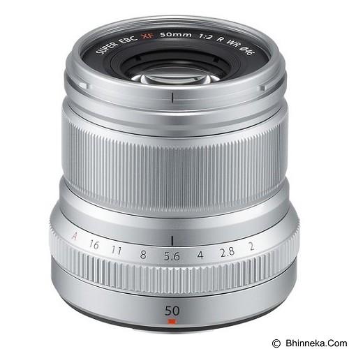 FUJIFILM XF 50mm f/2 R WR Lens - Silver - Camera Mirrorless Lens