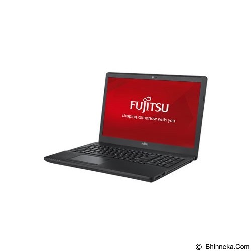 FUJITSU LifeBook AH556 Non Windows (i7-6500U) - Black (Merchant) - Notebook / Laptop Consumer Intel Core I7