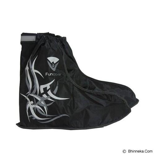 FUNCOVER Cover Shoes Jas Sepatu Tribal Design Size S - Hitam - Jas Hujan