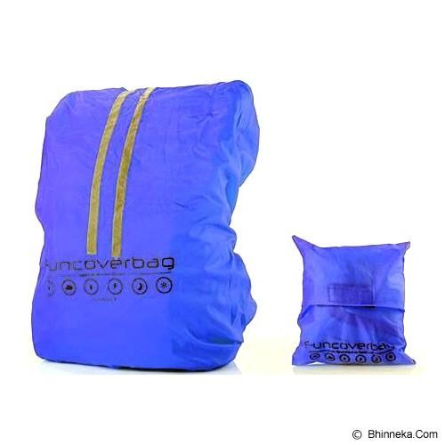 FUNCOVER Raincoat Cover Bag Backpack Tas 30L - Biru - Waterproof Bag