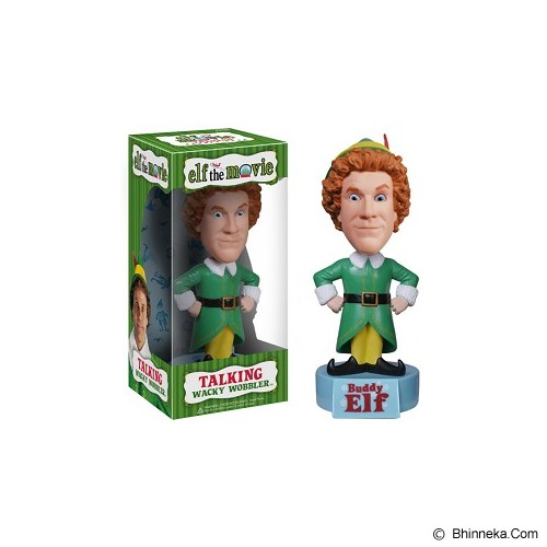 FUNKO Buddy the Elf Talking Wacky Wobbler [2951-F2951] - Movie and Superheroes