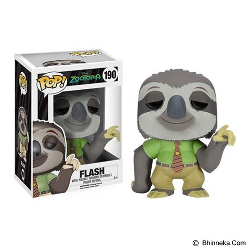 FUNKO Pop Flash Zootopia [ff-7525] - Movie and Superheroes