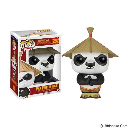 FUNKO Pop Po with Hat Kung Fu Panda (Merchant) - Movie and Superheroes