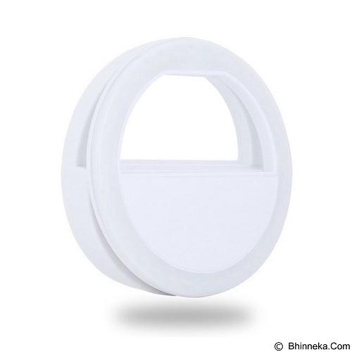 GADGETHOLIC Cellphone Camera 36 LED Ring Flash - White (Merchant) - Gadget Activity Device