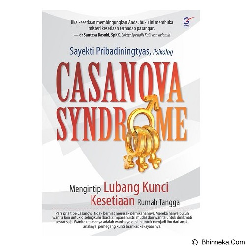 GALANGPRESS Casanova Syndrome [GL000261] - Craft and Hobby Book