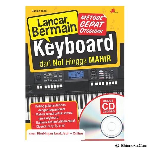 GALANGPRESS Lancar Bermain keyboard Dari Nol Hingga Mahir Bonus CD - Craft and Hobby Book