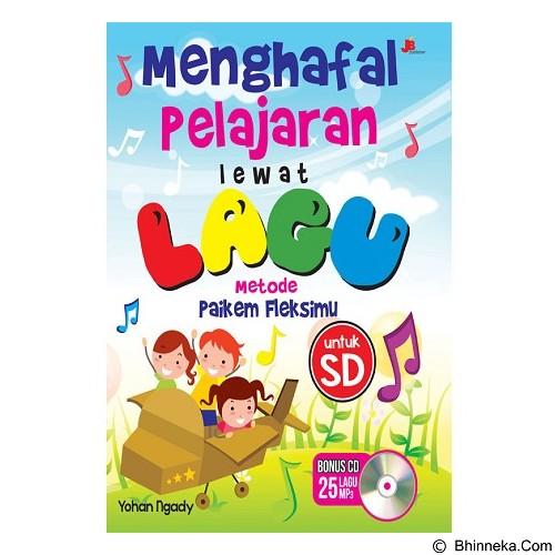 GALANGPRESS Menghafal Pelajaran Lewat Lagu + CD [JB000062] - Craft and Hobby Book