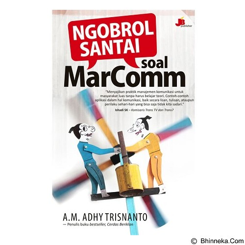 GALANGPRESS Ngobrol Santai Soal Marcom [JB000057] - Craft and Hobby Book