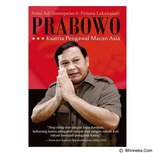 GALANGPRESS Prabowo Ksatria Pengawal Macan Asia [GL000266] - Craft and Hobby Book