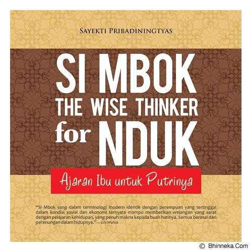 GALANGPRESS Si Mbok The Wise Thinker for Nduk : Ajaran Ibu Untuk Putrinya [KN000047] - Craft and Hobby Book