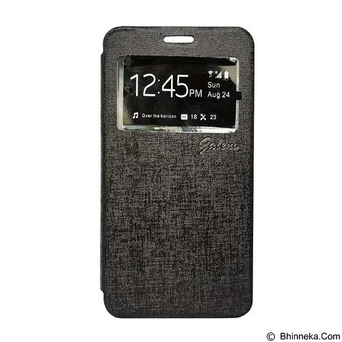 GALENO Filp Cover Xiaomi Redmi Note - Black (Merchant) - Casing Handphone / Case