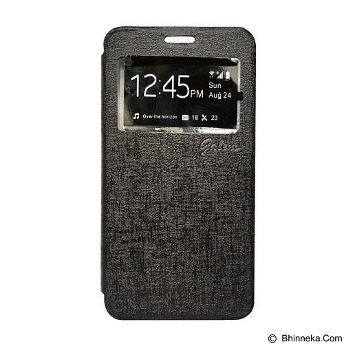 GALENO Filp Cover Xiaomi Redmi Note - Black (Merchant) - Casing Handphone / Case