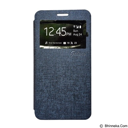 GALENO Flip Cover Andromax A  - Blue (Merchant) - Casing Handphone / Case