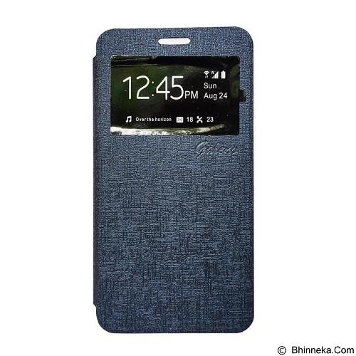 GALENO Flip Cover Andromax A  - Blue (Merchant) - Casing Handphone / Case