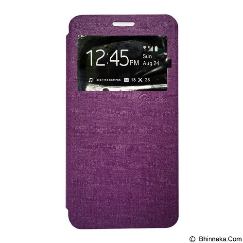 GALENO Flip Cover Samsung Galaxy Core 2 - Purple (Merchant) - Casing Handphone / Case