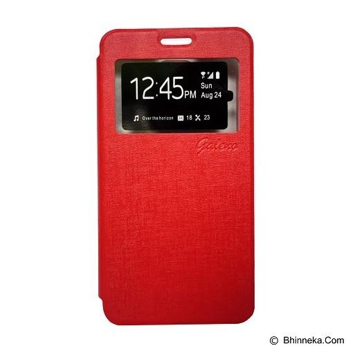 GALENO Flip Cover Sony Xperia M5 - Red (Merchant) - Casing Handphone / Case