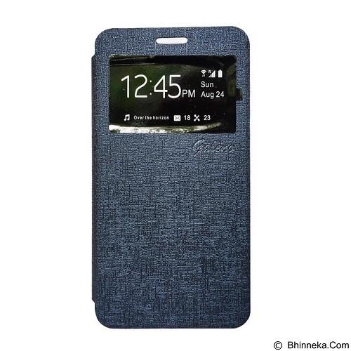 GALENO Flip Cover Vivo V3 - Blue (Merchant) - Casing Handphone / Case