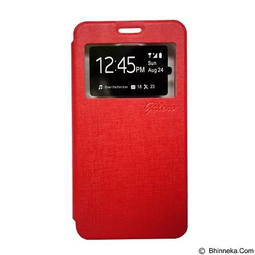 GALENO Flip Cover Vivo Y51 - Red (Merchant) - Casing Handphone / Case
