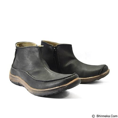 GALLERY FANNY SHOP Sepatu Pria Size 42 [LK-027] - Black - Casual Boots Pria