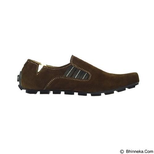 GALLERY FANNY SHOP Sepatu Pria Size 42 [LK-037] - Brown - Loafer dan Slip On Pria