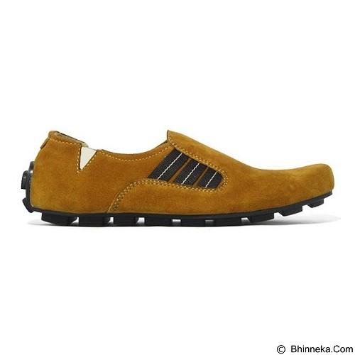 GALLERY FANNY SHOP Sepatu Pria Size 42 [LK-037] - Tan - Loafer Dan Slip On Pria