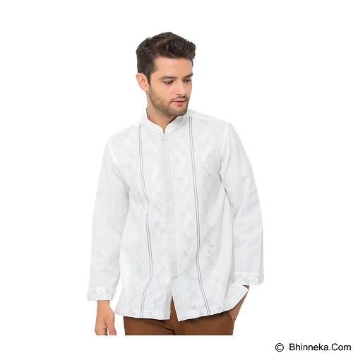 GALVANO Baju Koko Size L [LS-09-1509] - White - Baju Koko Pria