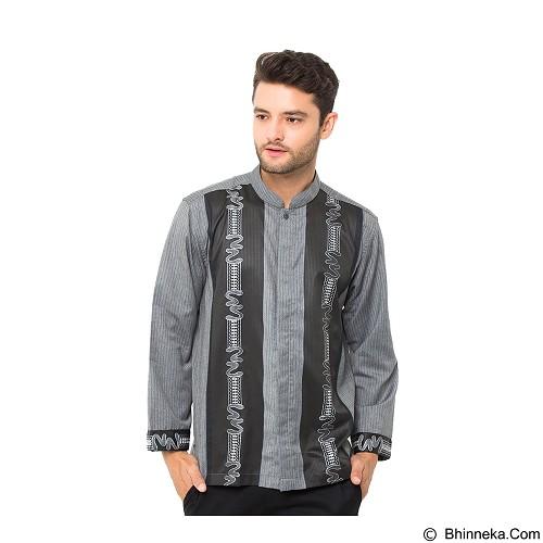 GALVANO Baju Koko Size L [LS-13-1509] - Grey Black - Baju Koko Pria