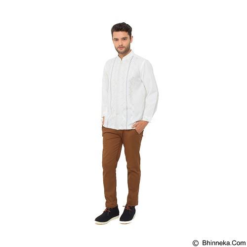 GALVANO Baju Koko Size S [LS-09-1509] - White - Baju Koko Pria