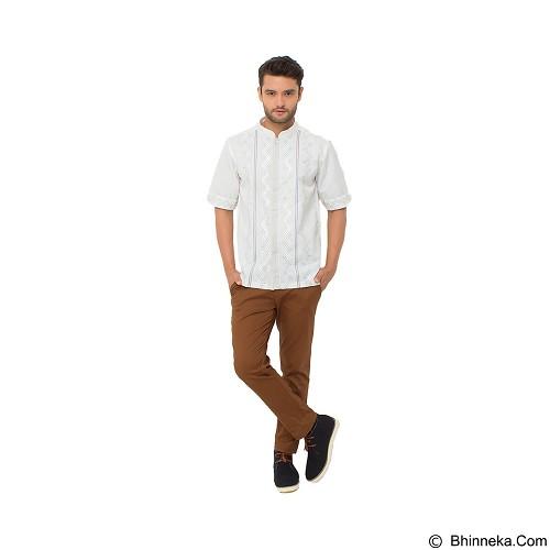 GALVANO Baju Koko Size XL [SS-09-1509] - White - Baju Koko Pria