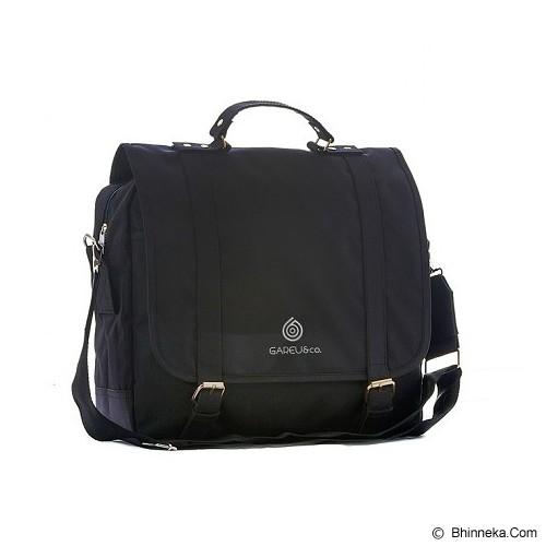 GAREU&CO Casual Sling Bag Laptop Series Cordura [G 4208] - Black - Notebook Shoulder / Sling Bag