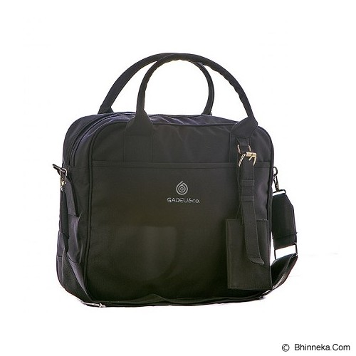 GAREU&CO Casual Sling Bag Laptop Series Cordura [G 4209] - Black - Notebook Shoulder / Sling Bag