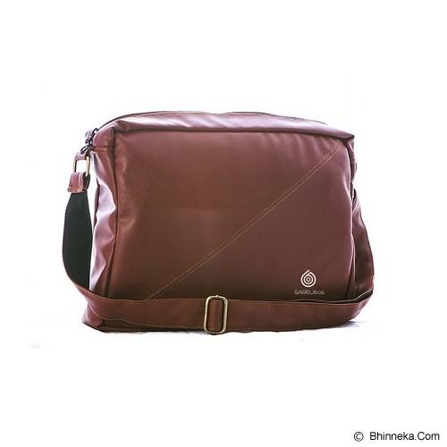 GAREU&CO Casual Sling Bag Laptop Series [G 4211] - Brown - Notebook Shoulder / Sling Bag