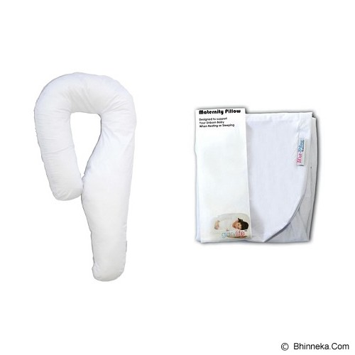 GARYMAN Maternity Pillow Seven [BZ-1232] - White - Feeding, Boppy Pillows Covers
