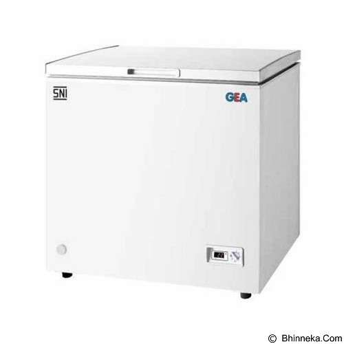 GEA Chest Freezer [AB 106-R] - Chest Freezer Top Open