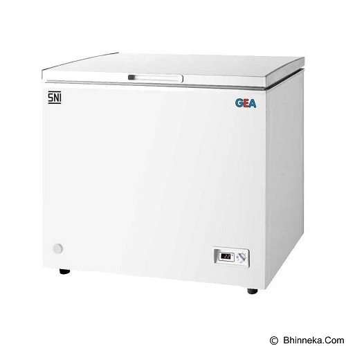 GEA Chest Freezer [AB 226-R] - Chest Freezer Top Open